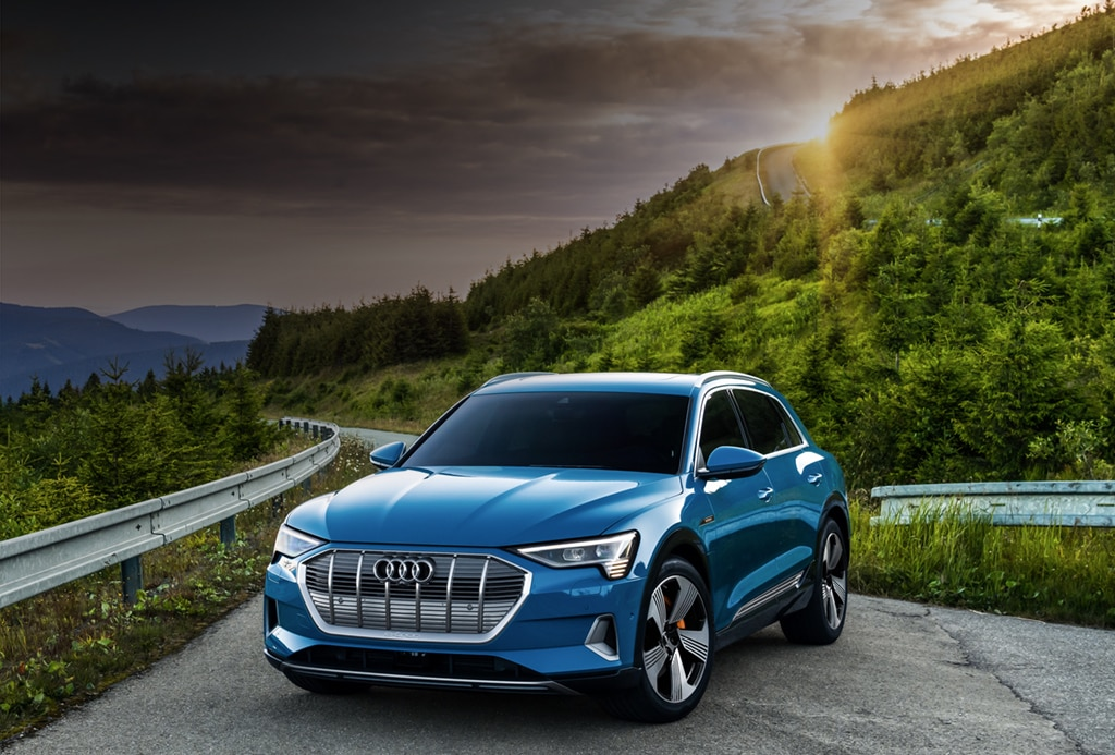Audi e-tron The first purely electric SUV from Audi Audi USA