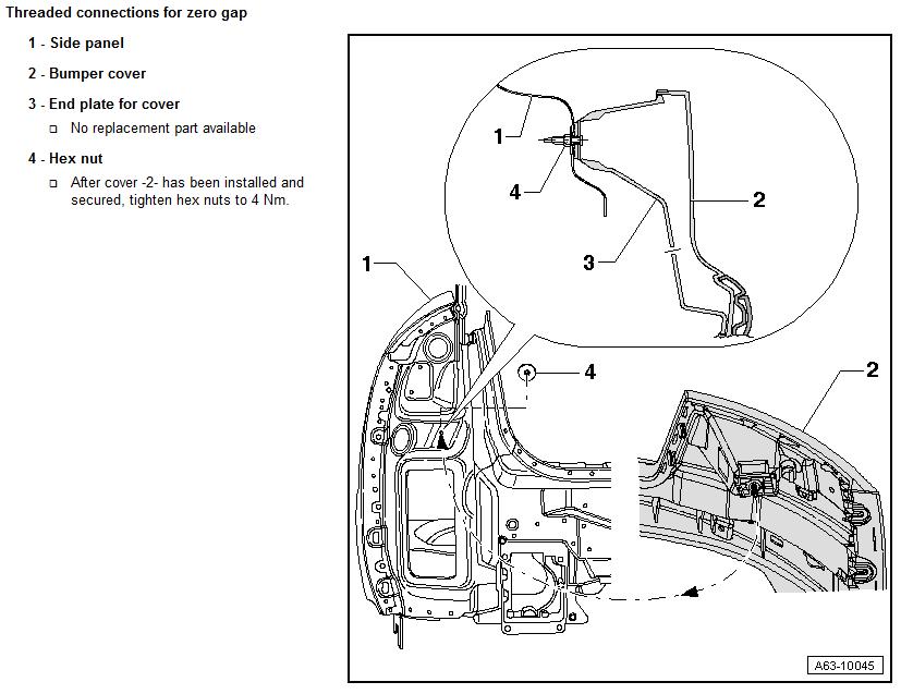 2002 audi s6 Motor diagram