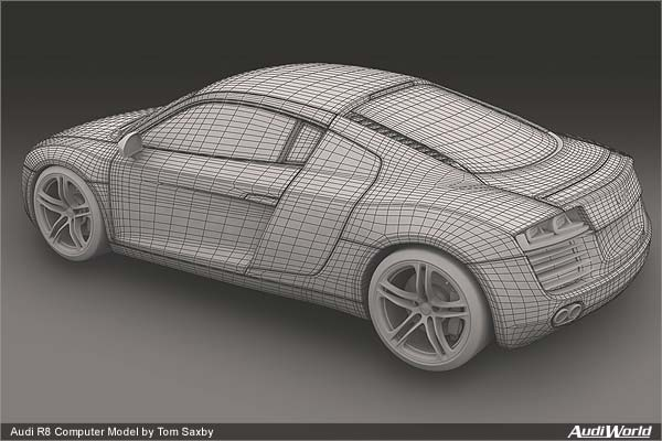 Audi R8 Cool CG\u0027s from an enthusiast - The German Car Blog - best of blueprint drawings of audi r8