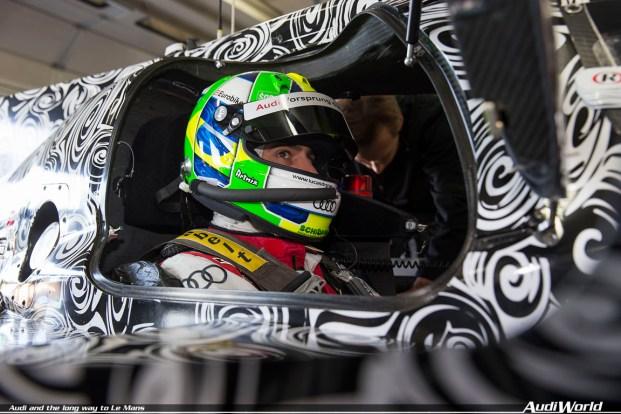 Lucas di Grassi (BR)Roll Out Audi R18 e-tron quattro (2014)