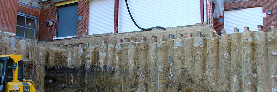 Tangent Piles/Wall Grout Systems