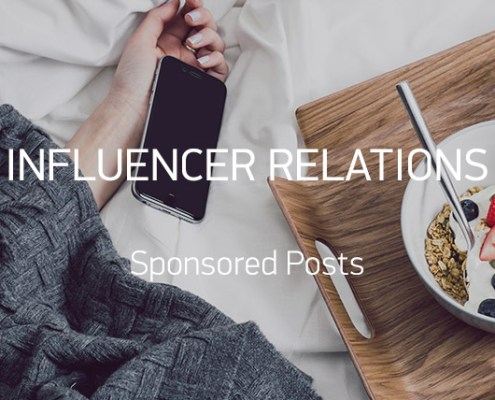 Sponsored Posts Blogger Relations