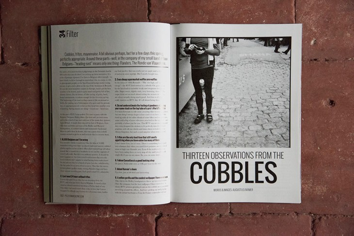Observations from the Cobbles. Issue 34, Peloton Magazine