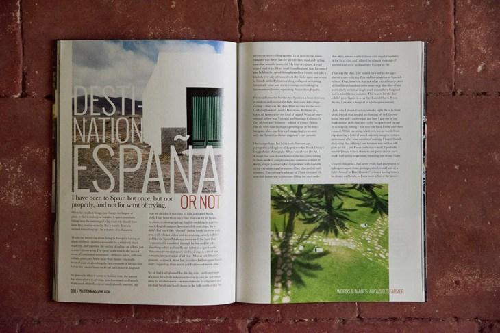 Espana. Issue 33, Peloton Magazine