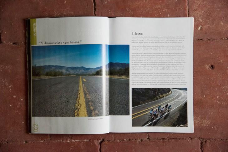 To Tucson. Issue 50, Peloton Magazine