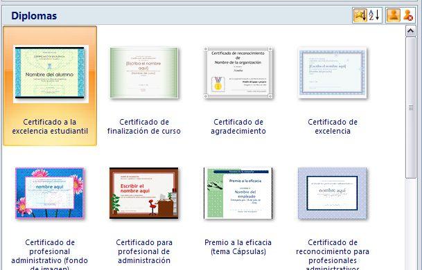 Powerpoint Curso gratis - certificado de reconocimiento para imprimir