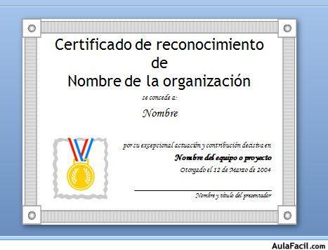 🥇▷【 Creación de diploma - Powerpoint 2007 Avanzado 】