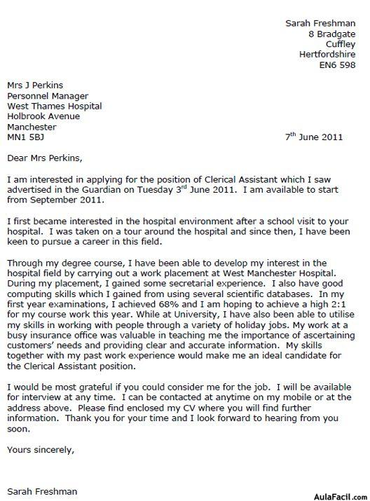 Cover Dizionario Inglese Italiano Wordreference Cover Letter Ingles Ejemplos Cover Letter Templates