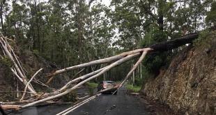 氣象局警告下周惡劣天氣還將繼續,洪水風險仍然很大。(網路圖片)