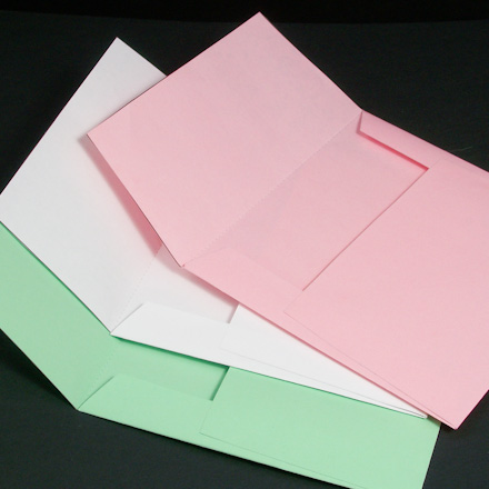 How to Make Half-Moon Petal Envelopes - Boxes and Bags - Aunt - Small Envelope Template
