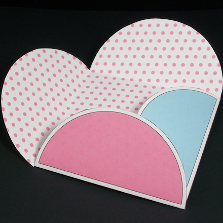 How To Make Half-Moon Petal Envelopes - Boxes And Bags - Aunt