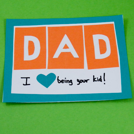 Make Simple Father\u0027s Day Cards - Father\u0027s Day Crafts - Aunt Annie\u0027s - father day cards