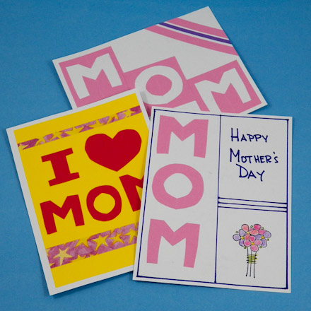 Easy (not just for) Mother\u0027s Day Cards - Mother\u0027s Day Crafts - Aunt - mother sday cards