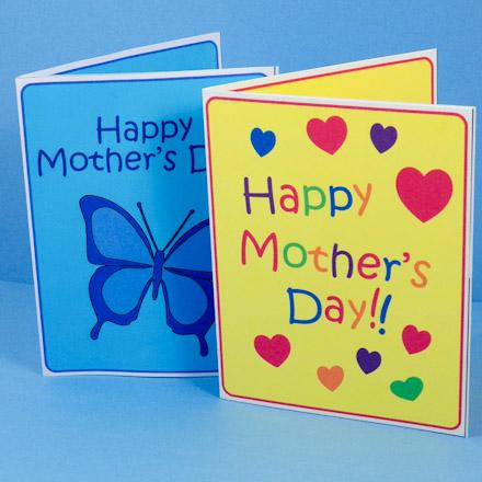 Make Mother\u0027s Day Pop-Up Card - Mother\u0027s Day Crafts - Aunt Annie\u0027s