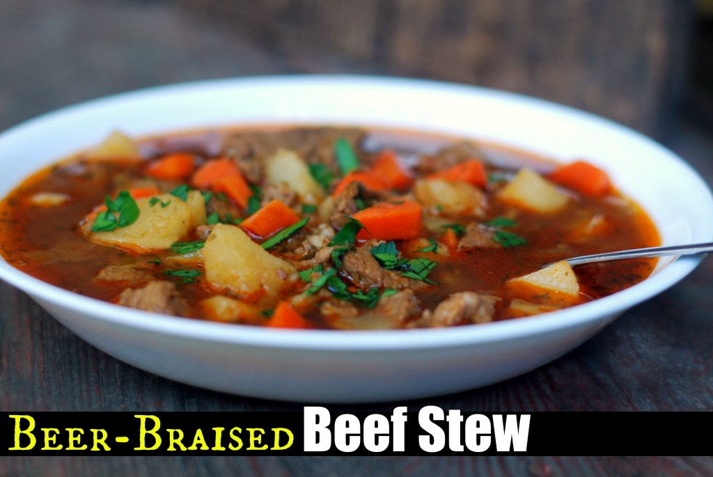Beef Stew with Beer and Paprika - Aunt Bee's Recipes