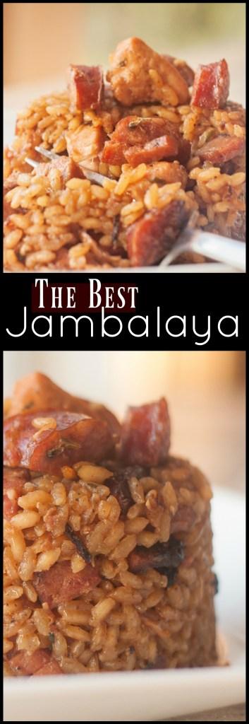 Cajun Jambalaya with Chicken, Smoked Sausage & Ham | Aunt Bee's Recipes