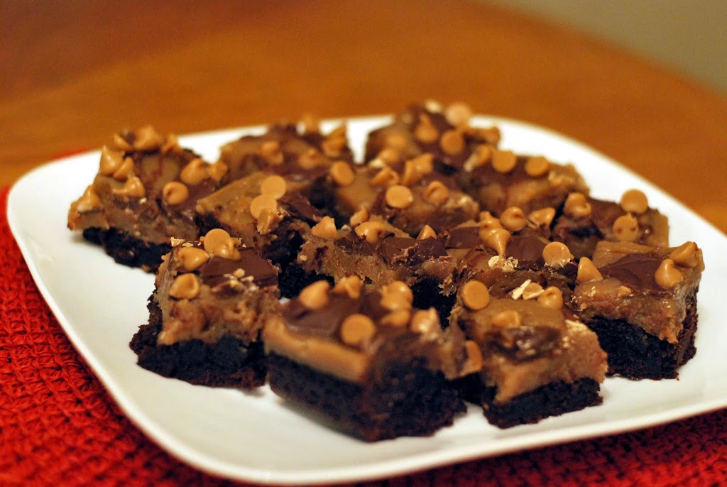 Ghirardelli Peanut Butter Brownie Overloads