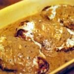 Oven Fried Buttermilk Chicken & Gravy