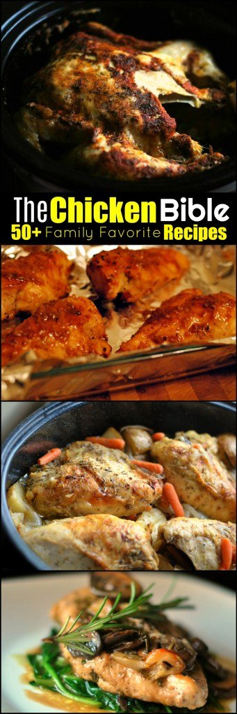 The Chicken Bible: 50+ Family Favorite Recipes | Aunt Bee's Recipes