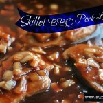 Skillet Barbecue Pork Loin Chops