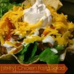 {stir-fry} Chicken Fajita Salad