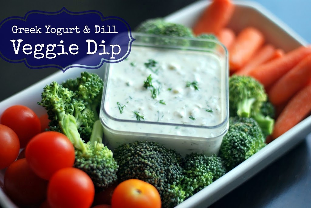 Greek Yogurt &  Dill Veggie Dip