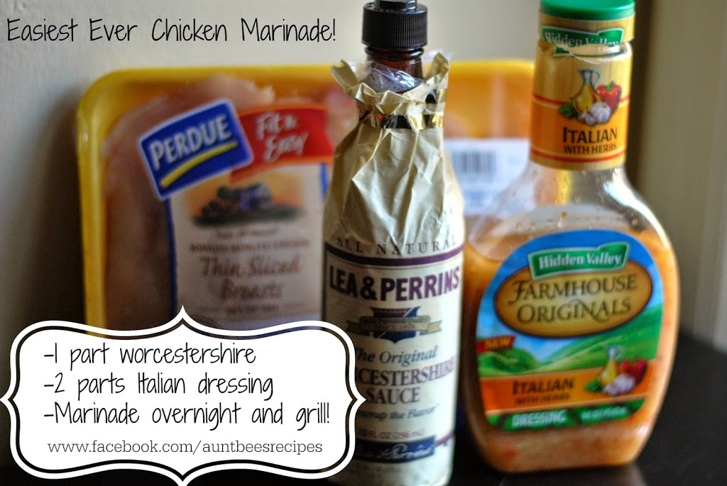 Easiest Ever Chicken Marinade