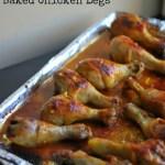 Honey Dijon Baked Chicken Legs