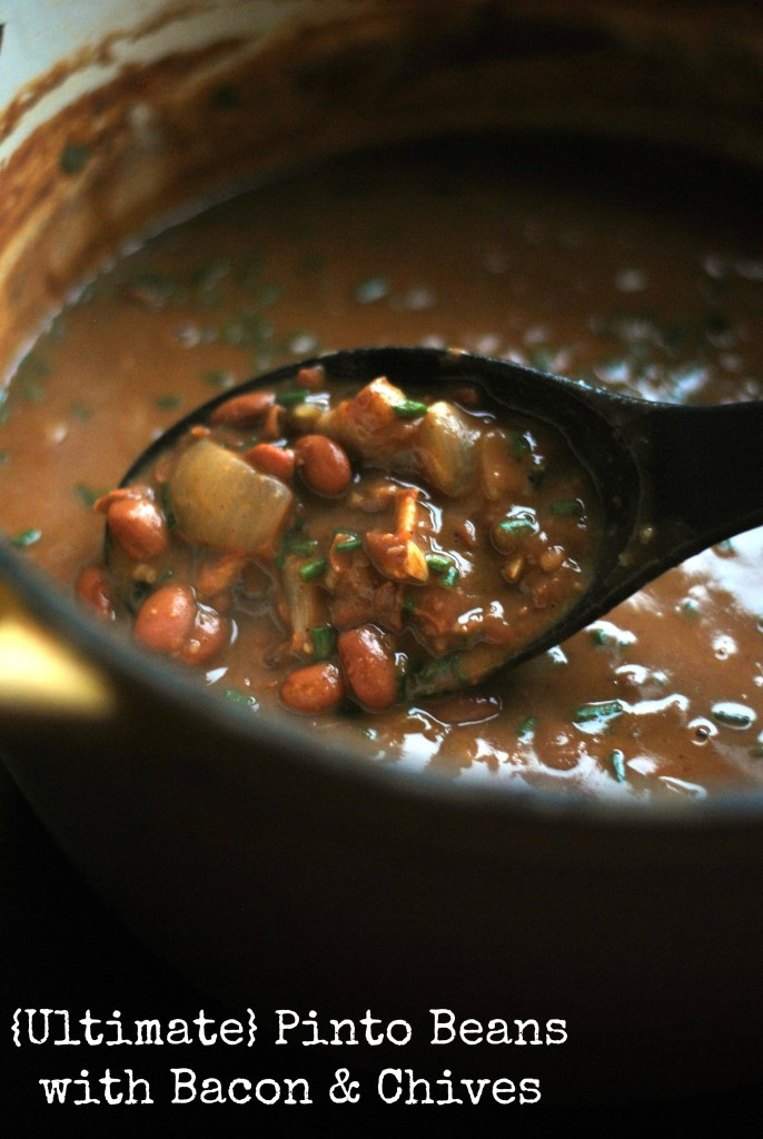 Ultimate} Pinto Beans with Bacon & Chives - Aunt Bee's Recipes