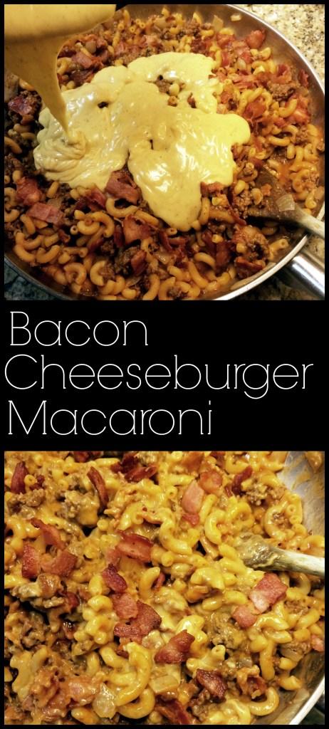 Bacon Cheeseburger Macaroni | Aunt Bee's Recipes