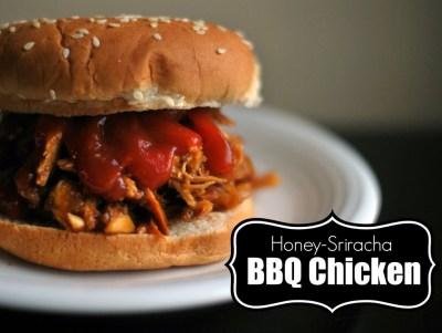 Honey-Sriracha BBQ Chicken   Aunt Bee's Recipes