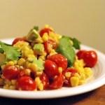 Corn & Avocado Salad