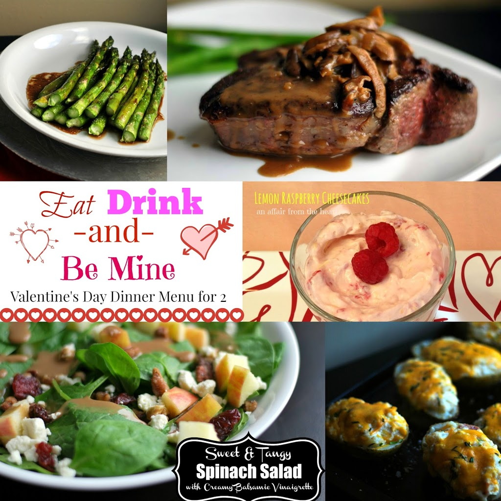 Eat Drink & Be Mine: Our Valentines Day Dinner Menu for 2