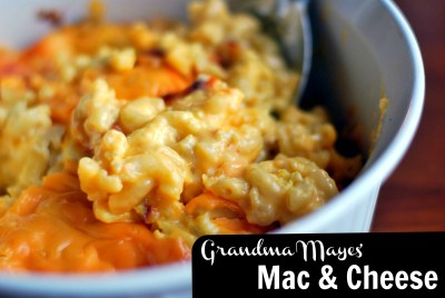 Grandma Mayes' Mac & Cheese | Aunt Bee's Recipes