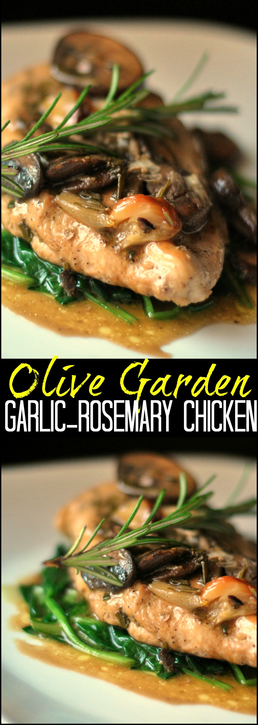 Olive Garden Garlic Rosemary Chicken | Aunt Beeu0027s Recipes