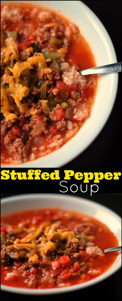 Stuffed Pepper Soup | Aunt Bee's Recipes