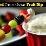 Whipped Cream Cheese Fruit Dip