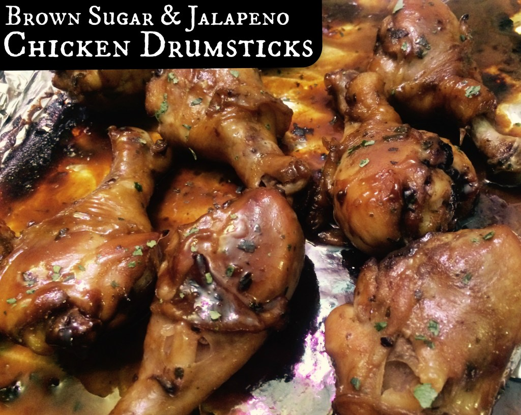 Brown Sugar & Jalapeno Chicken Drumsticks | Aunt Bee's Recipes