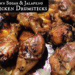 Brown Sugar & Jalapeno Chicken Drumsticks