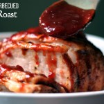 Berry-Barbecued Pork Roast