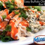 Easy Buffalo Chicken Rice Bowl
