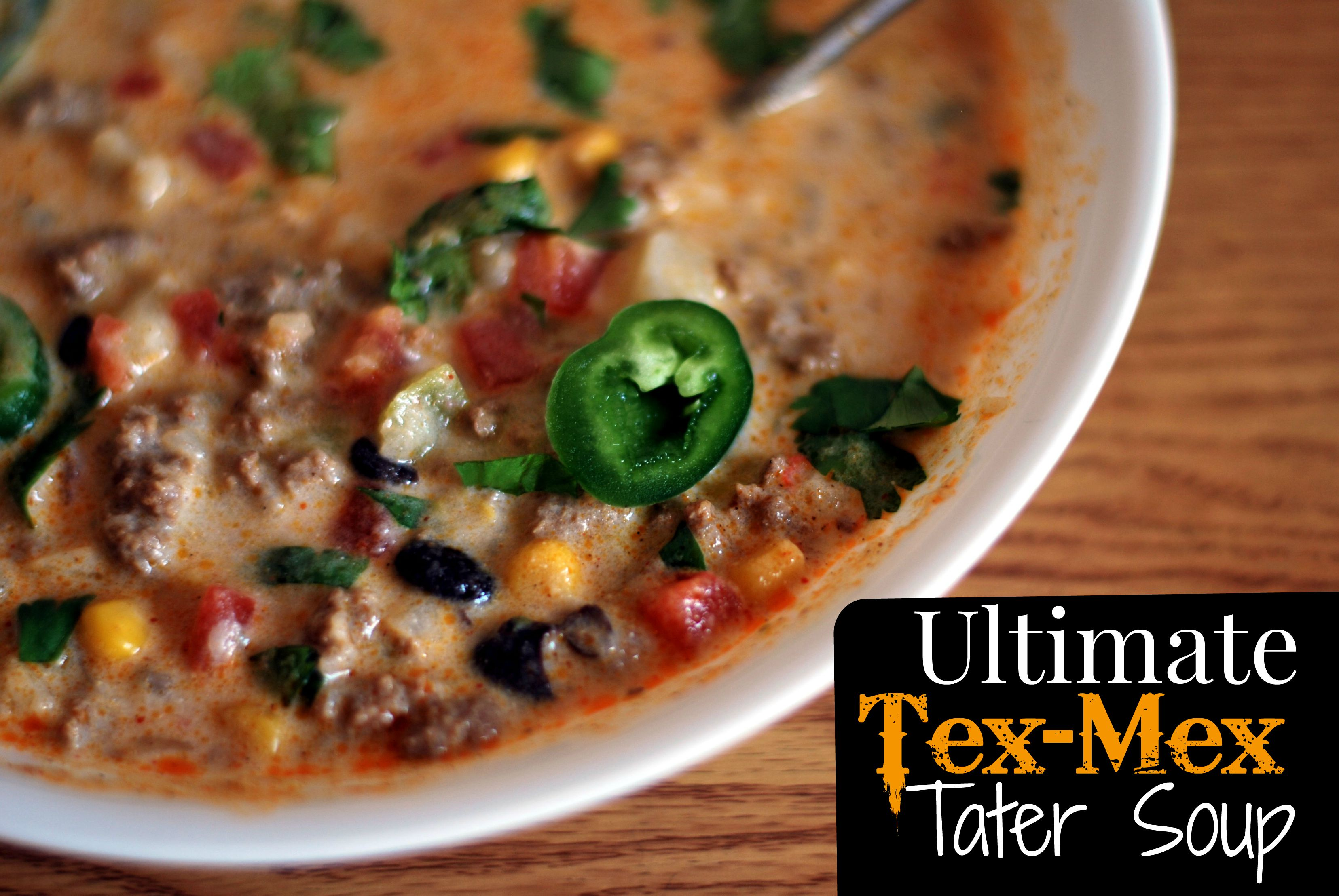 Ultimate} Tex-Mex Tater Soup - Aunt Bee's Recipes