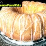 Nana's Easy Lemon Pound Cake