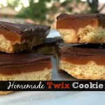 Twix Cookie Bars
