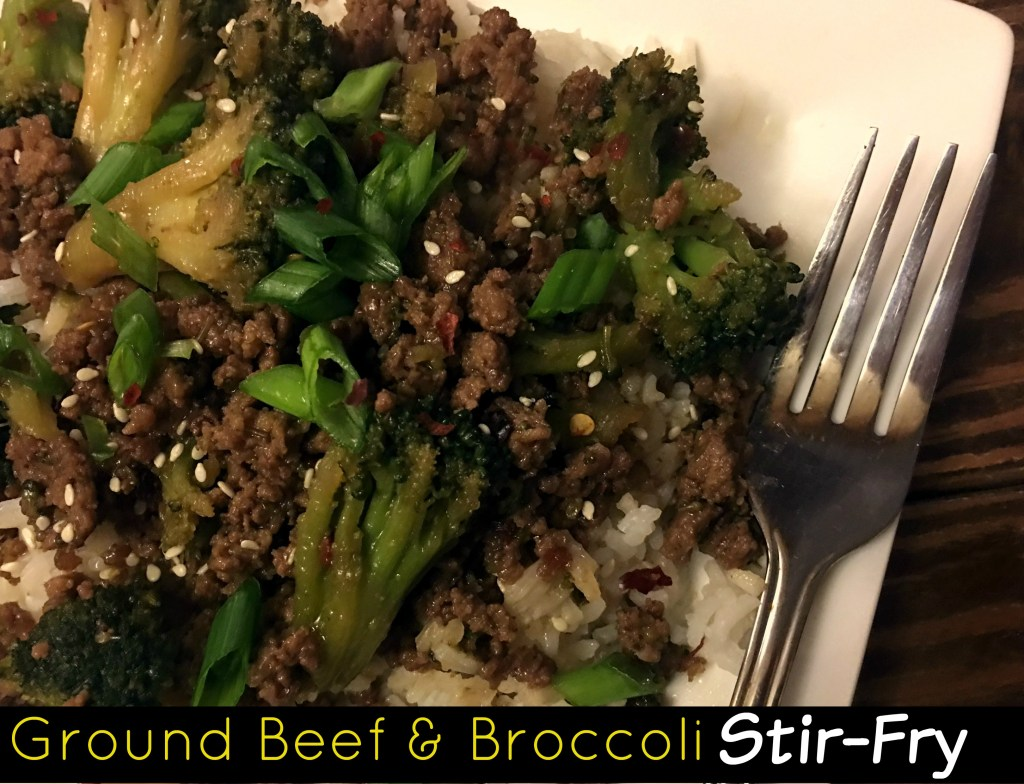 Ground Beef & Broccoli Stir Fry | Aunt Bee's Recipes
