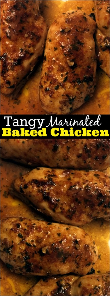 Tangy Marinated Baked Chicken | Aunt Bee's Recipes