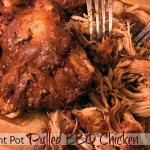 Instant Pot Pulled BBQ Chicken