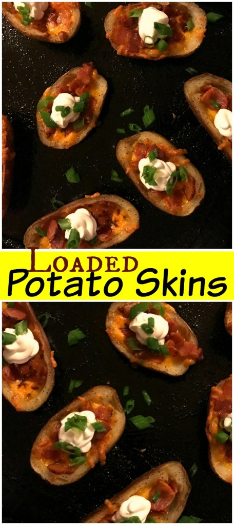 Loaded Potato Skins | Aunt Bee's Recipes