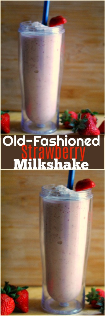 Old-Fashioned Strawberry Milkshake | Aunt Bee's Recipes