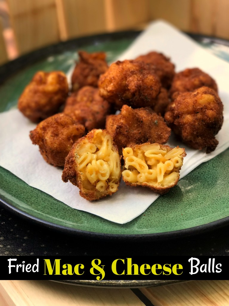 Fried Mac & Cheese Balls | Aunt Bee's Recipes